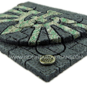 sword temple plinth with bases three quarter