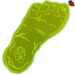 Da-big-Foot floating