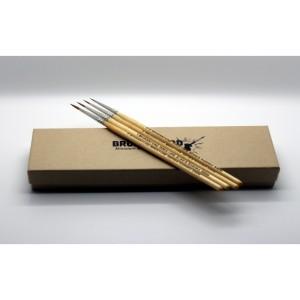 Miniature Series Brush set open