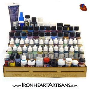 6 tier paint rack